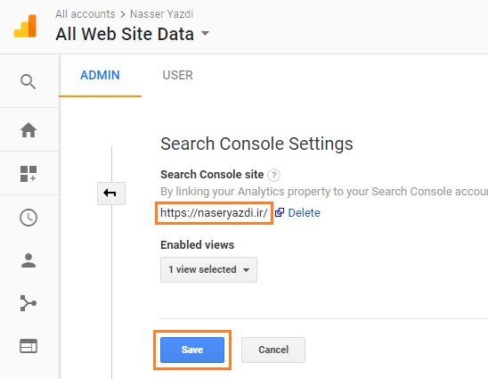 Google Search Console link analytics add GSC 01