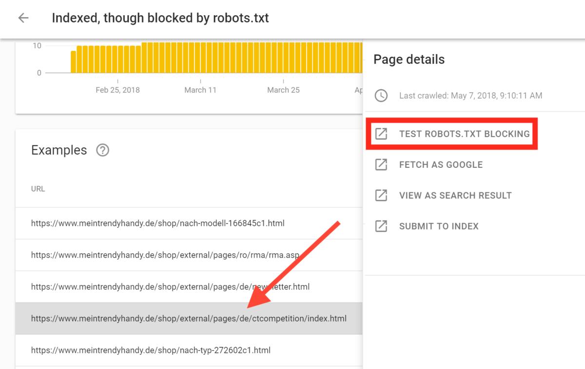 صفحه مورد نظر توسط robots.txt بلاک شده است