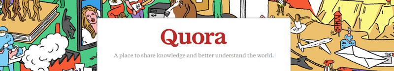 سایت quora برای ساخت بک لینک رایگان