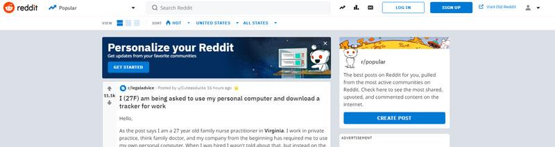 سایت ردیت برای ساخت بک لینک رایگان