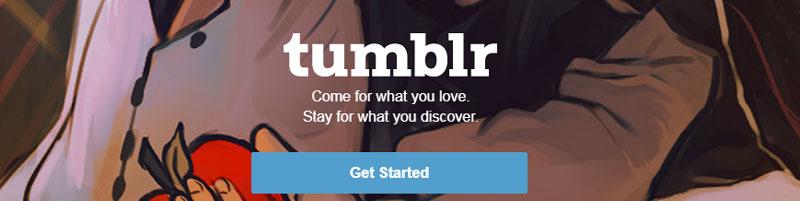 سایت tumblr برای لینک سازی رایگان