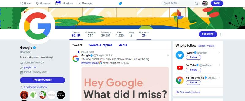 سایت توییتر برای ساخت بک لینک رایگان